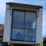 Mobile Cabin rented as a site office